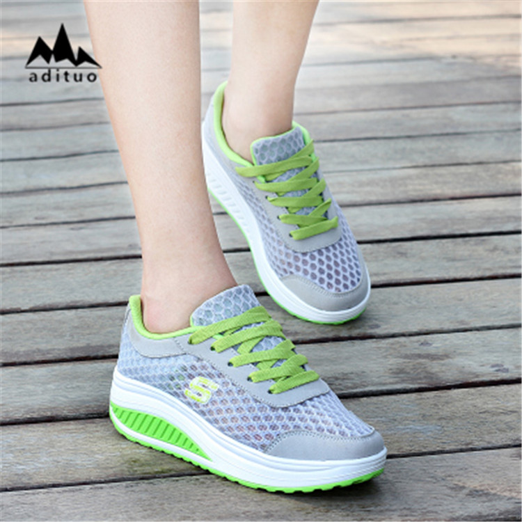 Summer High Heel Women Ladies Platform Sport Female Shoes