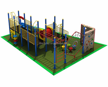 New design outdoor climbing park fitness equipment