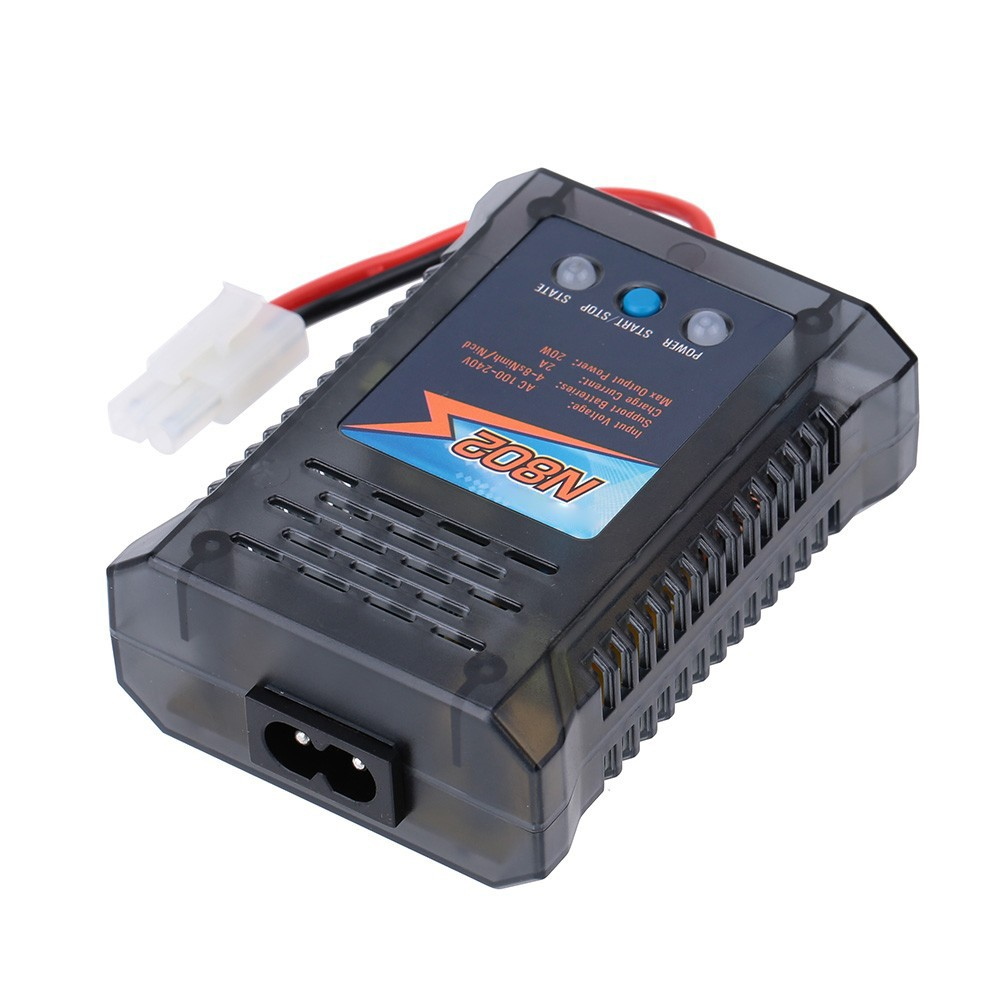 911802-20W 4-8s NiMH/NiCd Battery Easy Charger for RC Car Battery