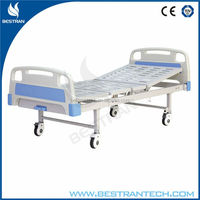 China BT-AM302 hospital manual crank mechanical patient bed, hospital bed home care price