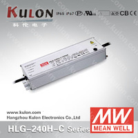 Meanwell LED Driver HLG-240H-C (Constant Current 700mA, 1050mA, 1400mA, 1750mA, 2100mA) 7 years warranty 700ma Led Driver