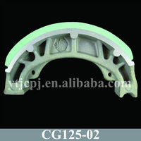 Good Quality China Motorcycle Brake Shoe Of CG125