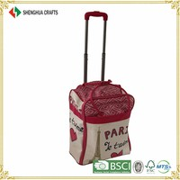Best Seller Leather Trolley Case With