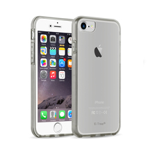 E-Tree Crystal Clear Hard Back Combo TPU 360 Degree Full Cover Case For iPhone 7 Case 360