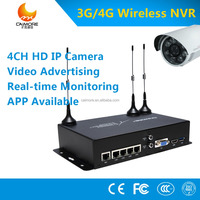 3g 4g wireless 4 Channel HDMI DVR CCTV AHD DVR 4CH 1080P NVR H.264 digital Video Recorder ONVIF for security CCTV camera