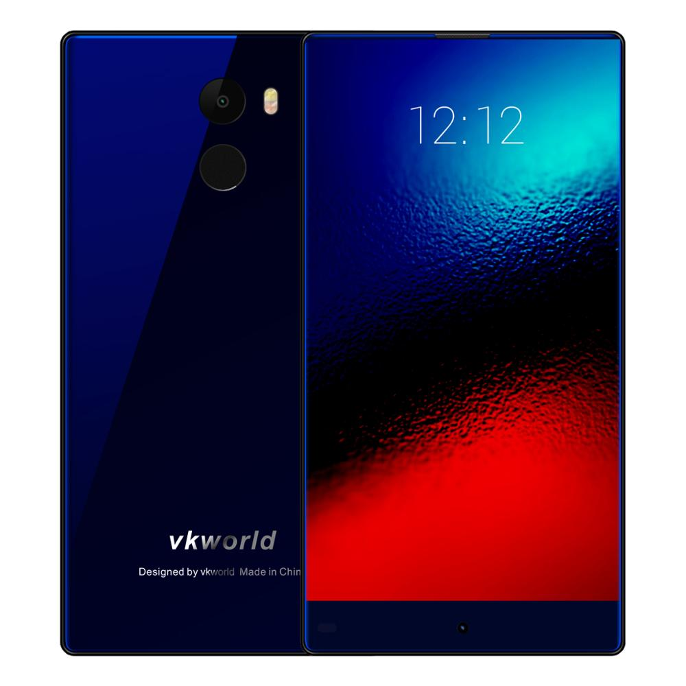 VKWORLD Mix Plus 5.5'' 8MP+13MP/RAM3G ROM32G/ Bezel Less Display Android 7.0 2850mAh Made in Japan 4G Mobile Phone better Doogee