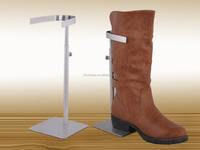 Boot Stand wholesale, Metal Black Boot Display Stand