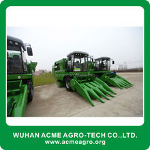 Large feed capacity corn combine harvester machine with Comfortable Driving and Ride