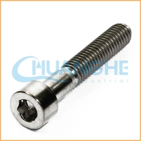 High precision hardware titanium bolts and nuts for fastening