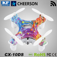 Cheerson CX-10DS Smart Q Mini Wifi 4 channels rc quadcopter with height hold