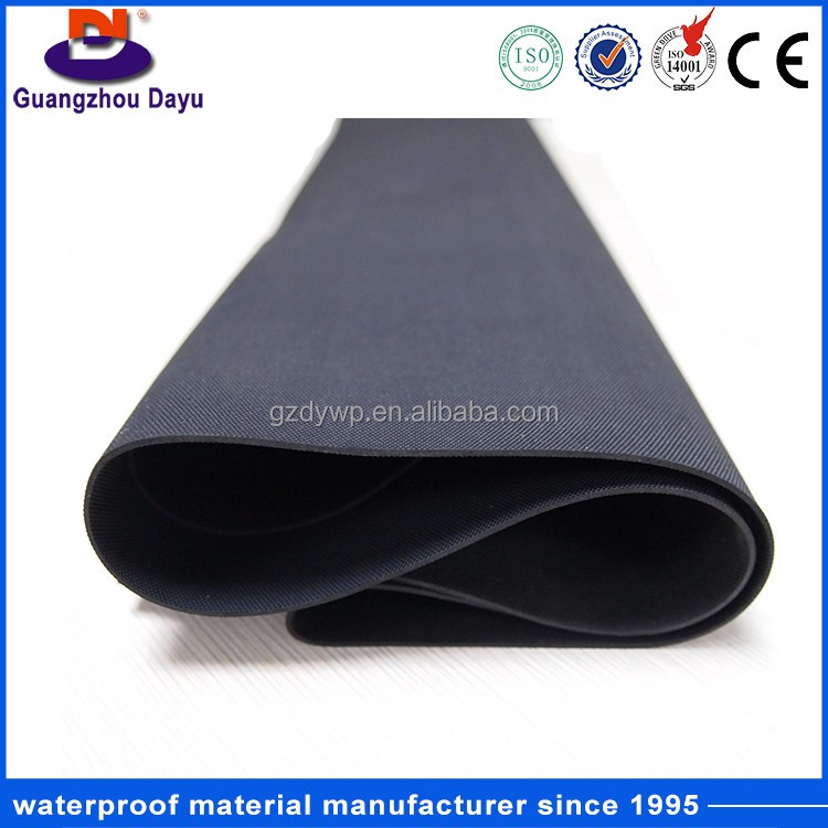 Suit All kinds of building roof 1.2mm/1.5mm/2.0mm EPDM Rubber Roofing Waterproof Membrane