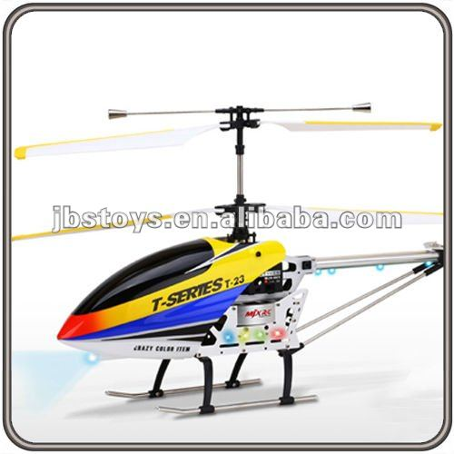 64CM Big Mjx T-Series 3 Channel Metal Alloy Rc Helicopter T23