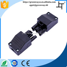 3 Way Male and Female Electrical Cable Connector for Interior Lightings