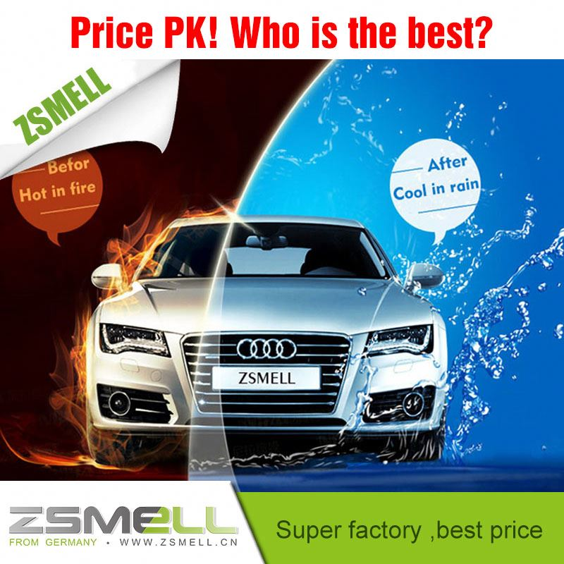 Zsmell new products car tint glass film high quality hot sales car coating surface protective film