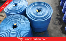 "3""X20m high quality pvc collapsible water suction hose"