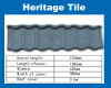 Plain antique Metal Roofing Sheet-Nigeria /kenya/Tanzania Stone Chip coated Steel Roof Tile