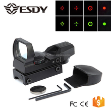 Holographic Tactical 1X22X33 Multi-Reticle 4 Reticle Reflex Red Green Dot Riflescope 20mm Rail