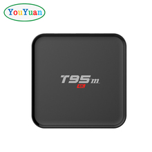 2018 best selling Youyuan tv box T95M Amlogic S905X BT4.0 /2GB DDR3 2.4G WiFi CODI TV BOX