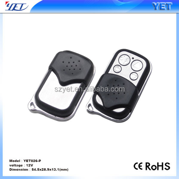 Adjustable frequency omnipotent duplicating remote control wireless alarm