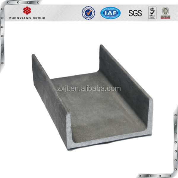 universal sizes China gb standard u shape structural channel steel