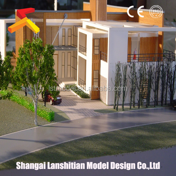 realistic 3d architectural model for house plan