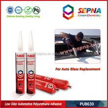 car pu adhesive with full glass roof using one component pu