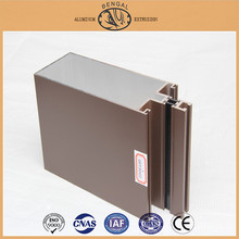 Aluminum Extrusion Profiles for Curtain Wall Frame, Building Material Aluminum Extrusion