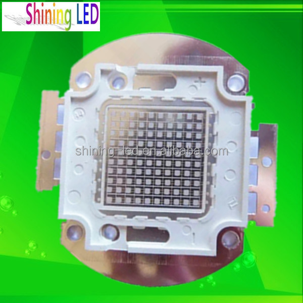 Fctory Low Price High Quality Ultraviolet Diode Epileds Chip High Power Array 100w UV LED 410nm 415nm 420nm 430nm