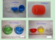 colorful plastic capsule toy for vending machines