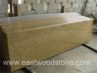 Kitchen Counter Tops in Tiger Skin Yellow Granite