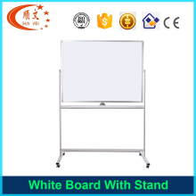 best sell high density foam sheet magnetic white board mobile whiteboard with stand