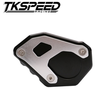 motorcycle Kickstand Foot Side Stand Extension Pad Support Plate For KTM 1050 1090 1190 1290 Adventure