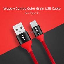 Wopow New Arrival 1 Meter Type C Certified USB Cable Providers