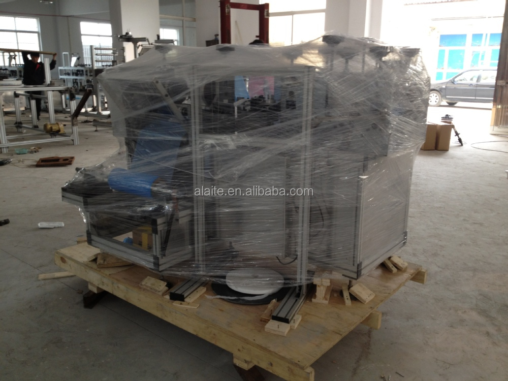 ALT-420 AUTOMATIC NON-WOVEN BOOT COVER MAKING MACHINE