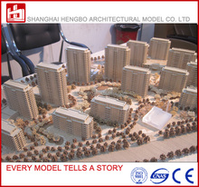 Wooden Architecture Model Scale 1:100 Model For Real Estate