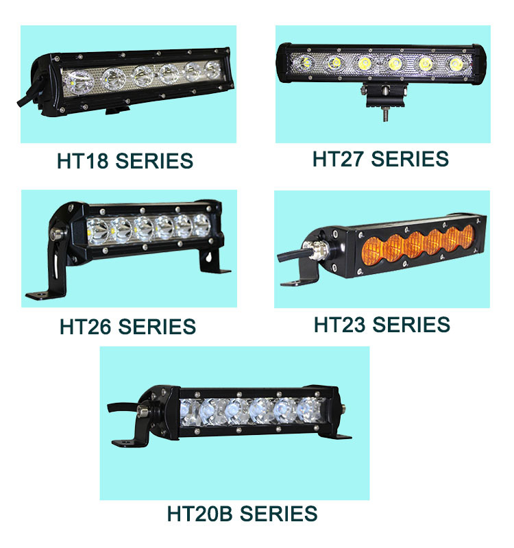 11inch 30W led work light rally lightstorm offroad driving lamp led light bar