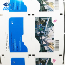 Top Quality European Standard Customized Flexographic Double Sided Printing RFID Crafted Paper Train Ticket Manufacturer