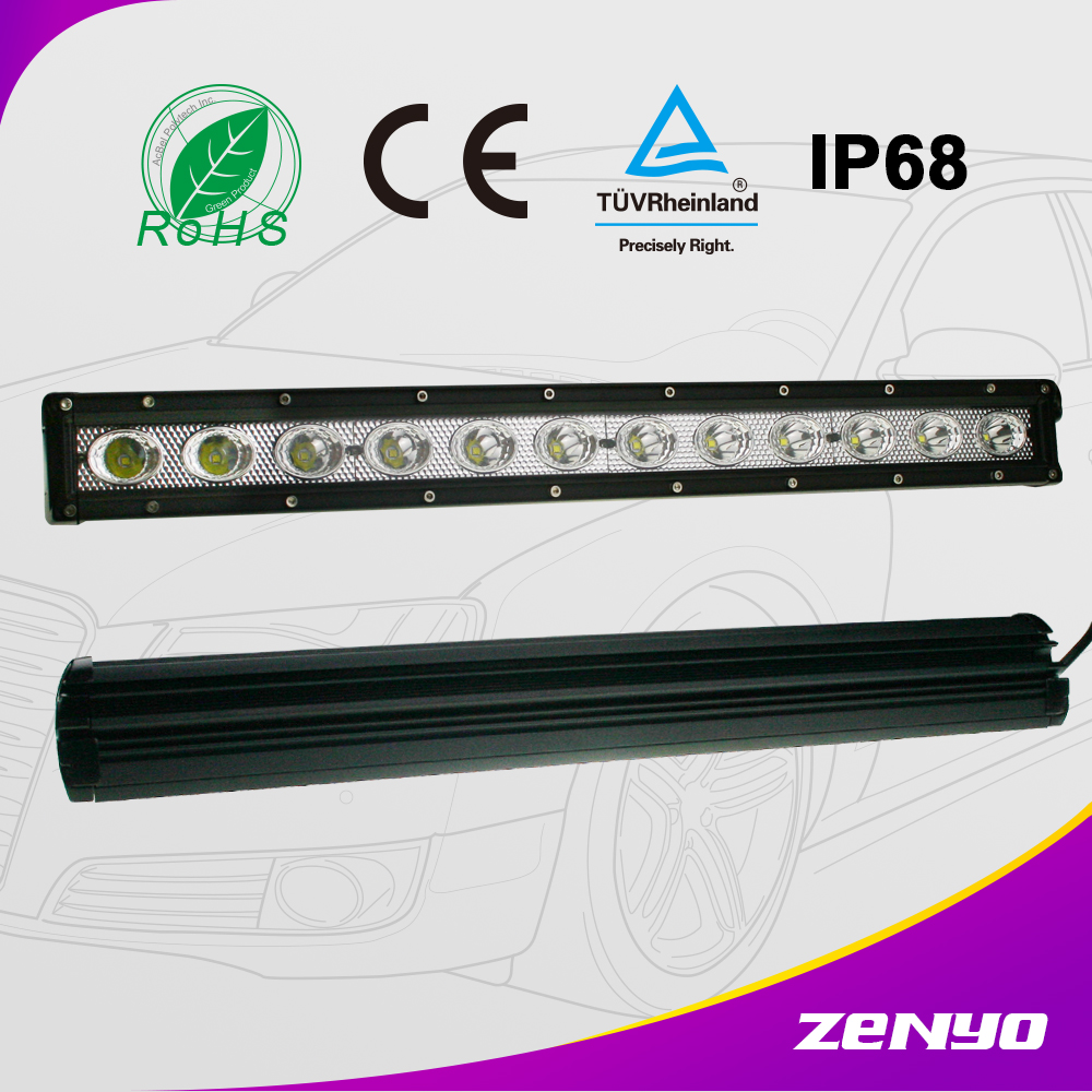 zenyo 13.5v car led light bar, led rigid bar light, adjustable headlight car led light bar offroad