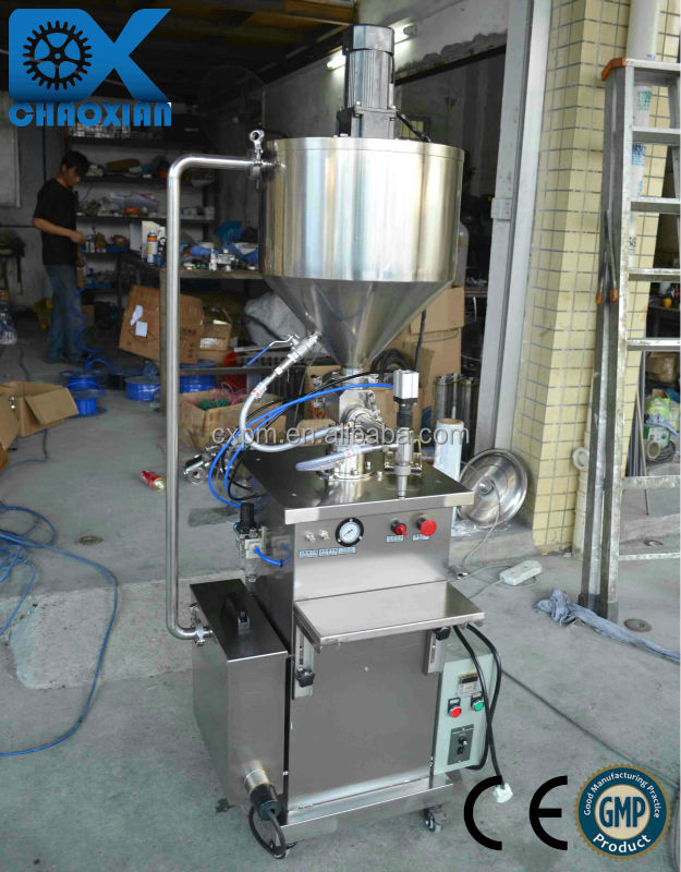 Newest model of Barbecue sauce filling machine(with heating and mixing treatment)
