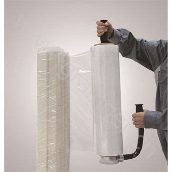 Fabrik Preis LLDPE Guss Wrap Film Transparent Pallet Stretch Film