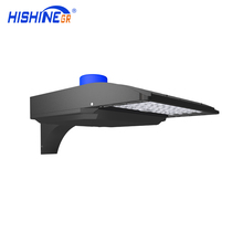 DLC One person Installation Led Shoebox Street Light Retrofit LED Parking Lot Lighting