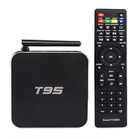 Canada Hot Sale New Arrival hd video player android 5.1 free download T95 Android Tv Box