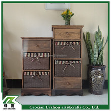 Antique Solid Wood Cabinet , Cabinet Handware for Home Furniture