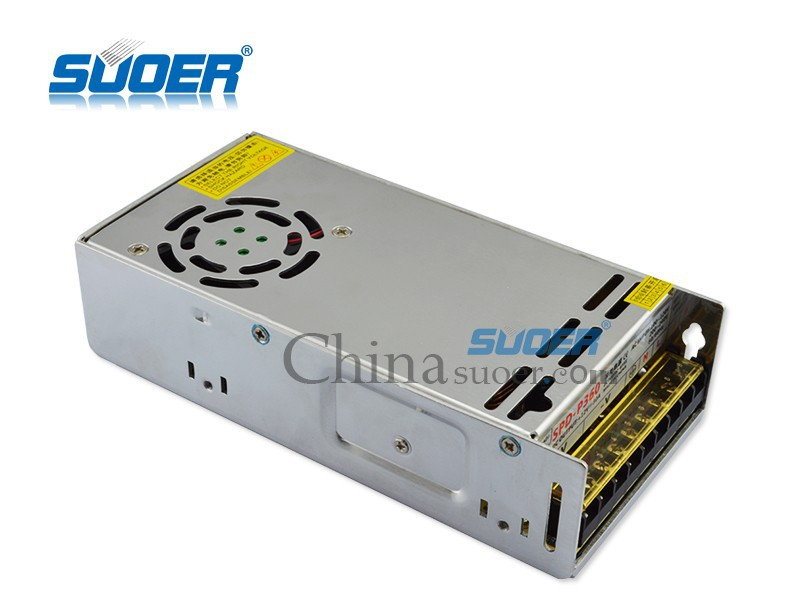 Suoer 360W Industrial Switching Power Supply 30A 12v Universal Power Supply
