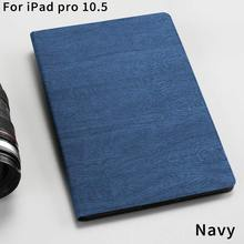 Luxury Magnetic Flip Cover Stand Customized Shock pu leather Tree texture tablet case&cover for iPad Pro 10.5