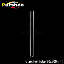 pyrex borosilicate glass test tube for lab