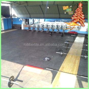 indoor fitness center gym rubber flooring mats