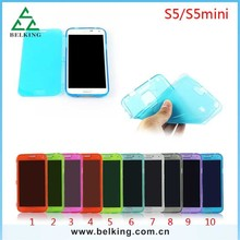 For Samsung S5 Mini Cover Cover Soft Case, TPU Colorful Mobile Case For Samsung S5 Mini