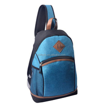 Mens Sling Cross Body Single Strap Backpack Bag