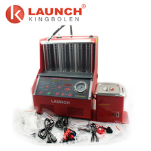 Latest version 220V launch cnc602a fuel injector cleaner and tester